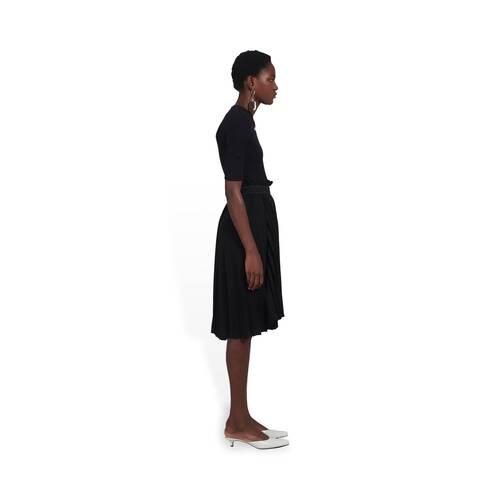 fancy pleated skirt
