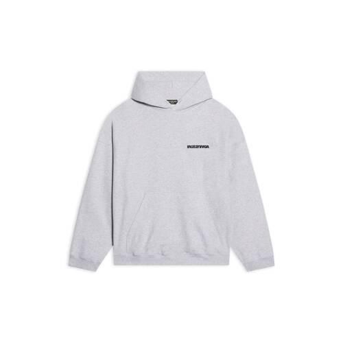 turn wide fit hoodie