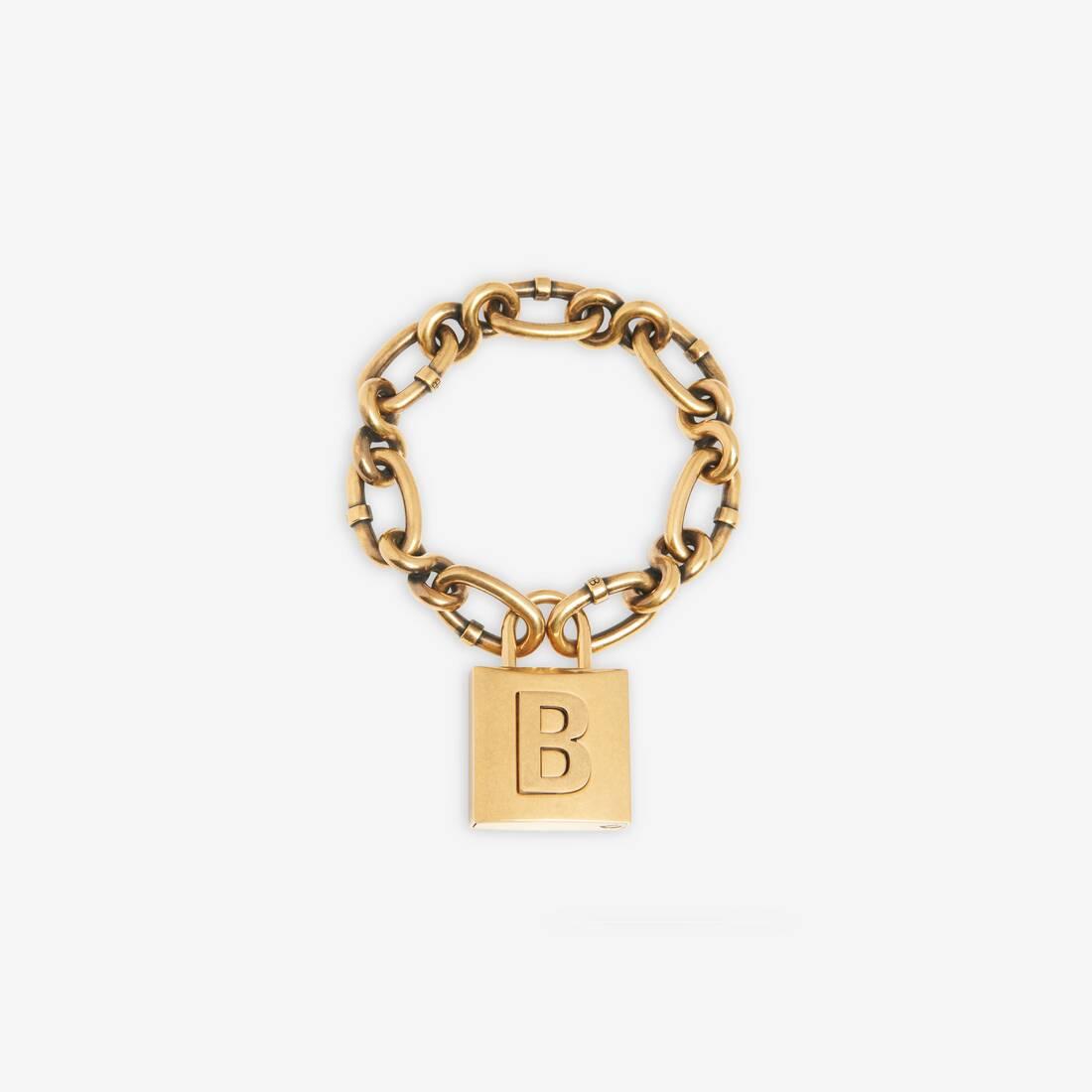 Display zoomed version of lock chain bracelet 1