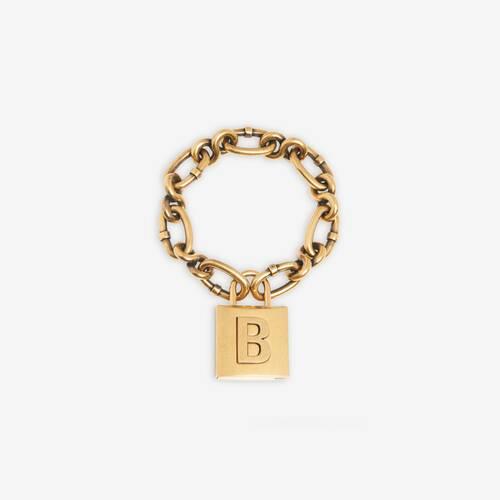 lock chain ブレスレット