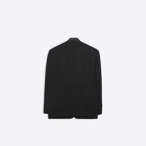 tailored shirt jacket