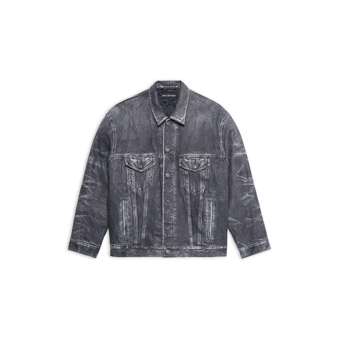 Display zoomed version of trompe-l'œil denim jacket 1