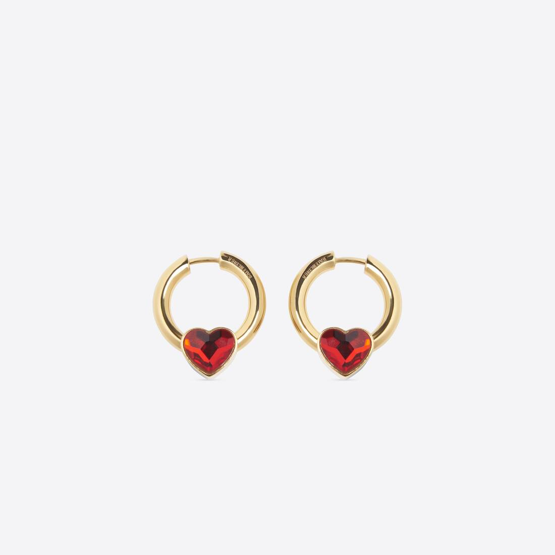 Display zoomed version of force heart earring 1