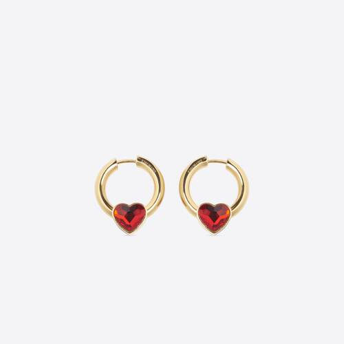 force heart earring