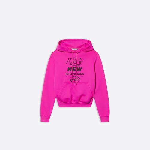 this is not fitted hoodie
