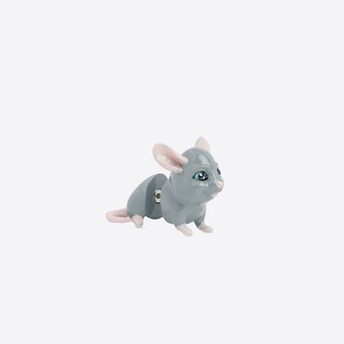 boucle d'oreille happy rat
