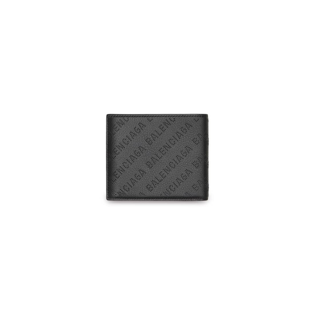 Display zoomed version of cash square folded coin wallet 2
