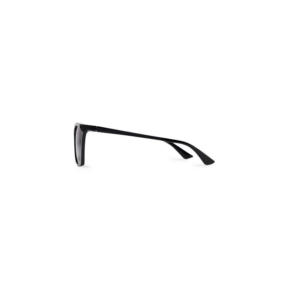 Display zoomed version of rim rectangle sunglasses adjusted fit 3