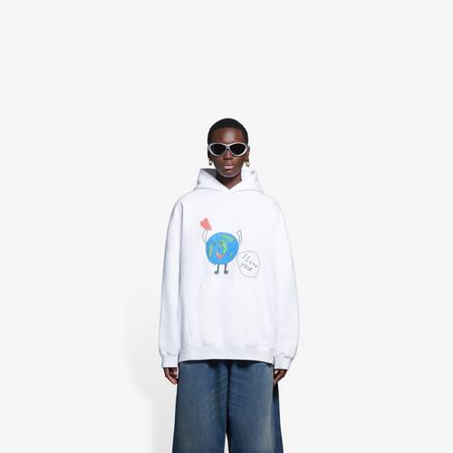 love earth large fit hoodie
