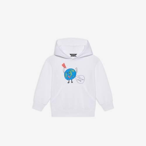 kids - love earth hoodie