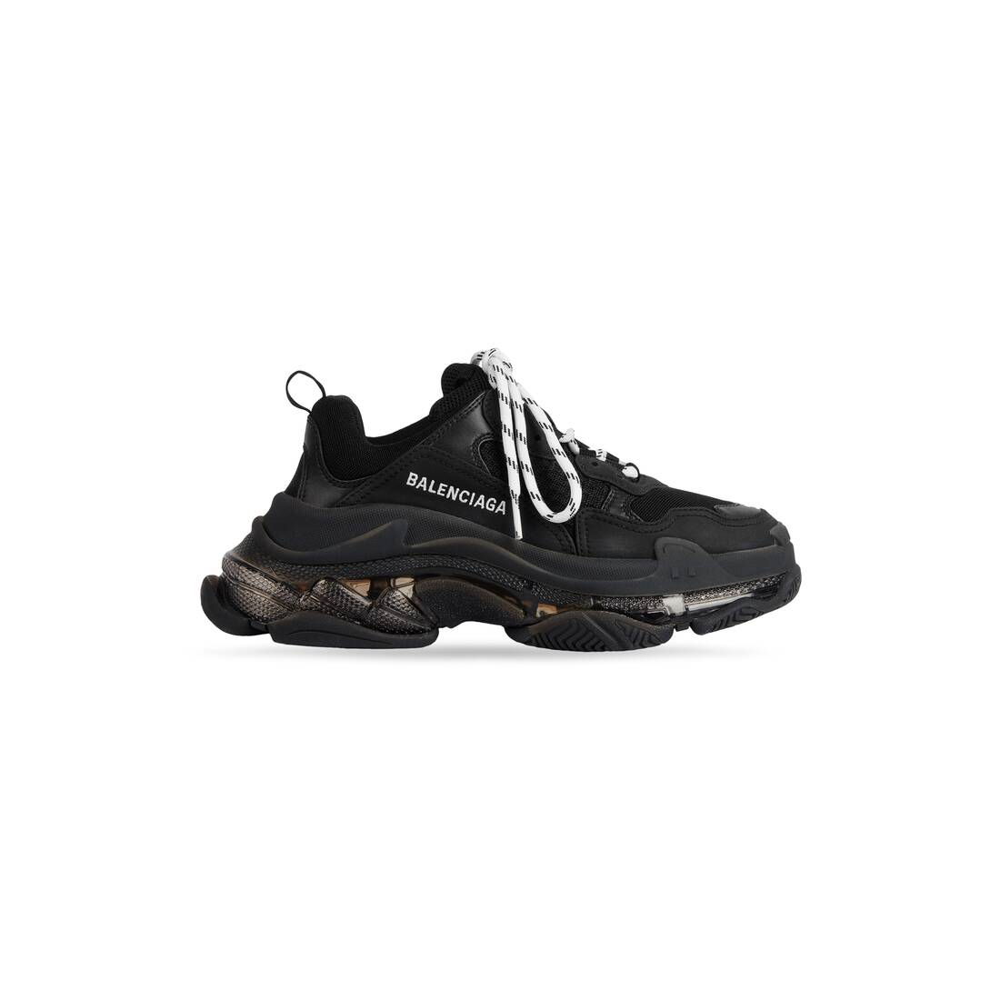 Display zoomed version of triple s sneakers clear sole 1