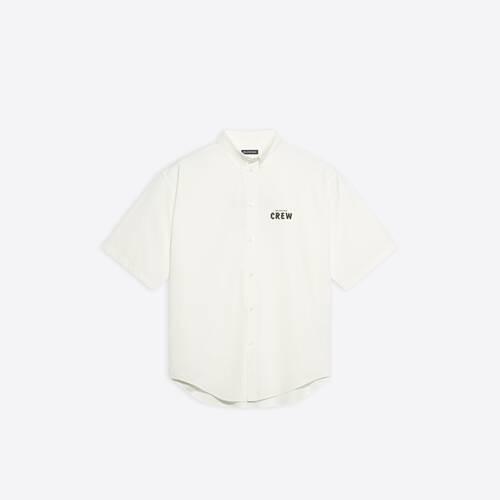 crew kurzärmeliges large fit shirt