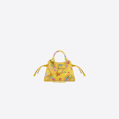 sac top handle neo classic mini modèle puppies and friends print