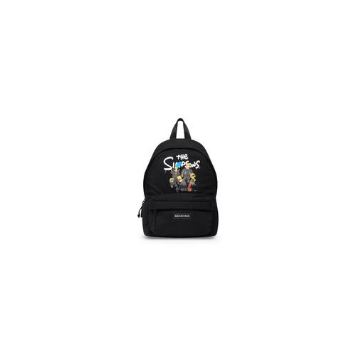 the simpsons tm & © 20th television explorer small one strap backpack in jersey