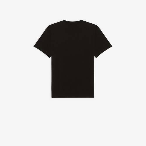 camiseta de ajuste mediano real balenciaga