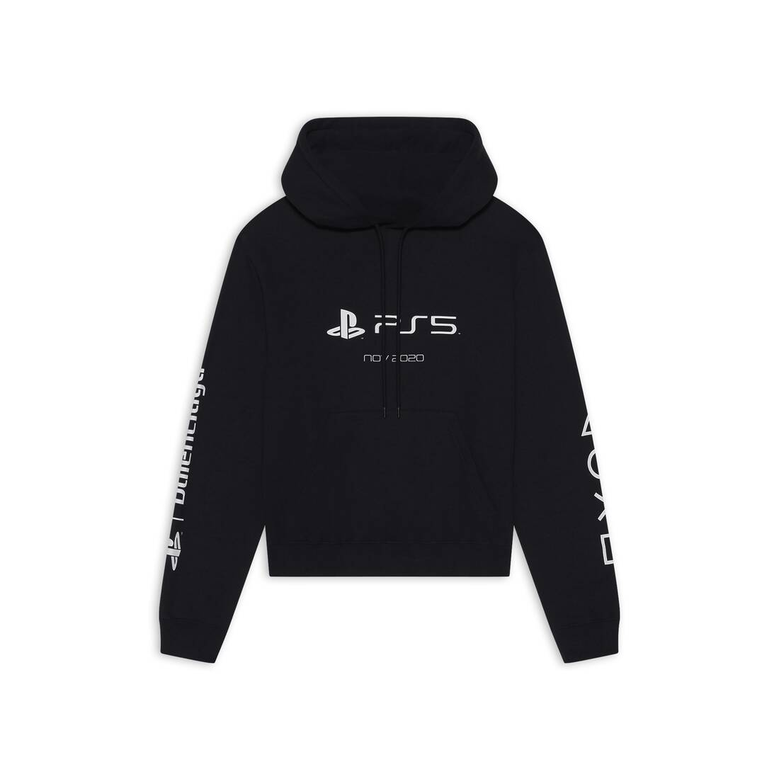Display zoomed version of playstation fitted hoodie 1