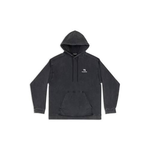 sponsor b 미디엄 핏 hoodie