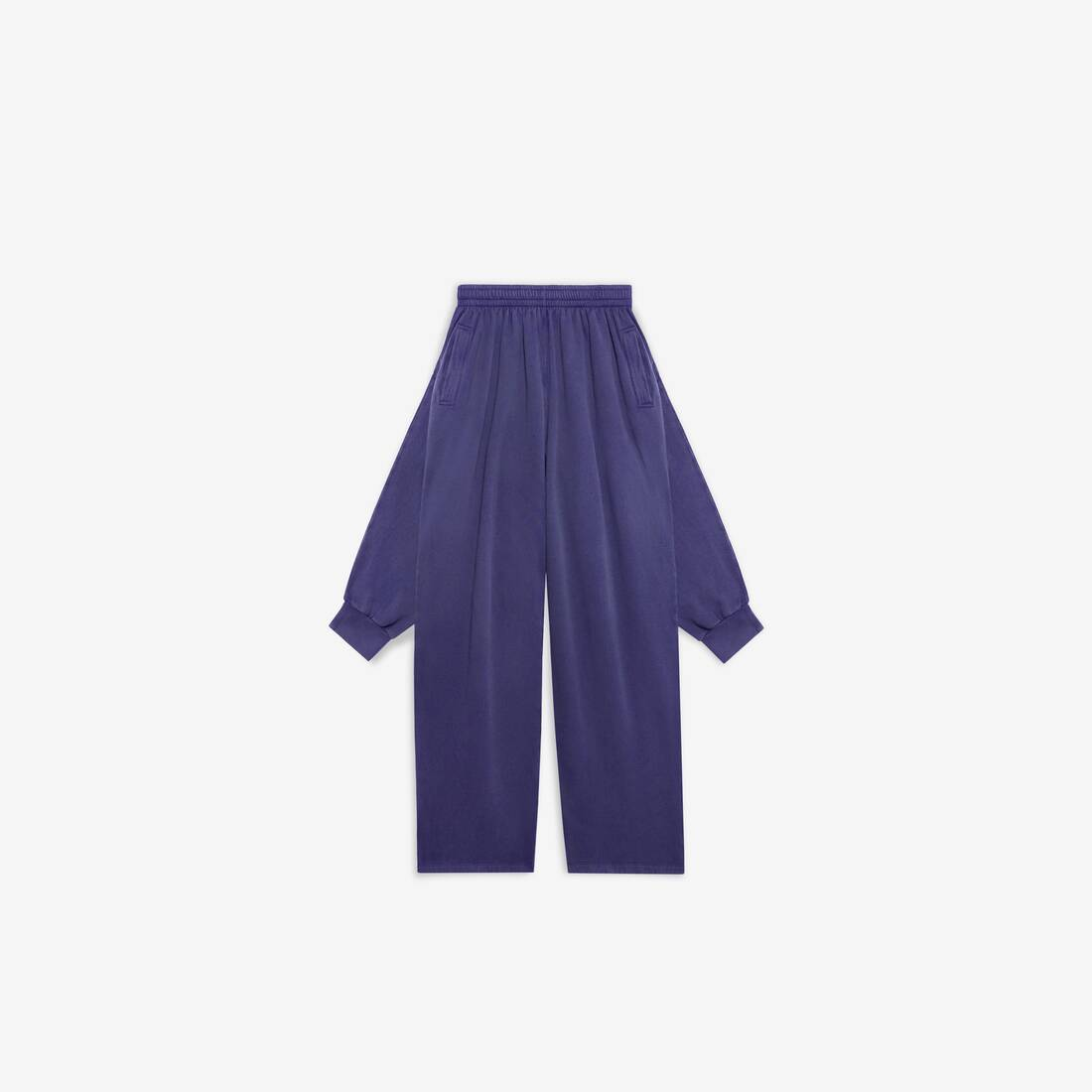 Display zoomed version of knotted sweatpants 1
