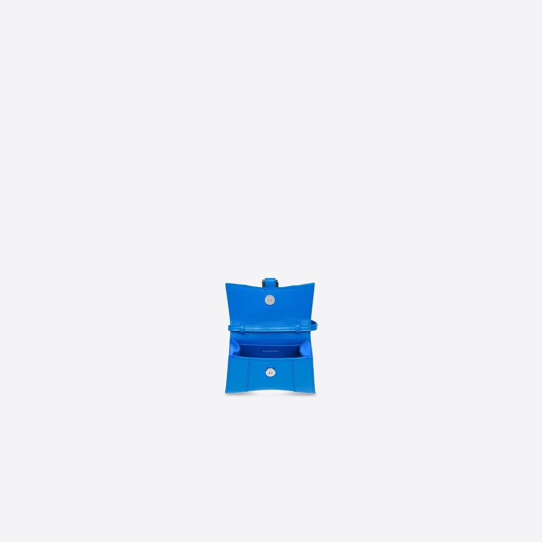 Display zoomed version of hourglass mini top handle bag 5