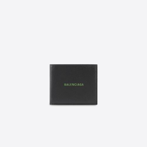 cash square folded wallet