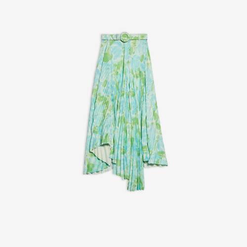 dynasty pleated skirt