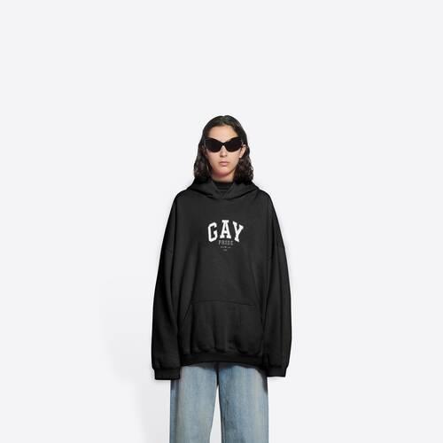 pride boxy hoodie