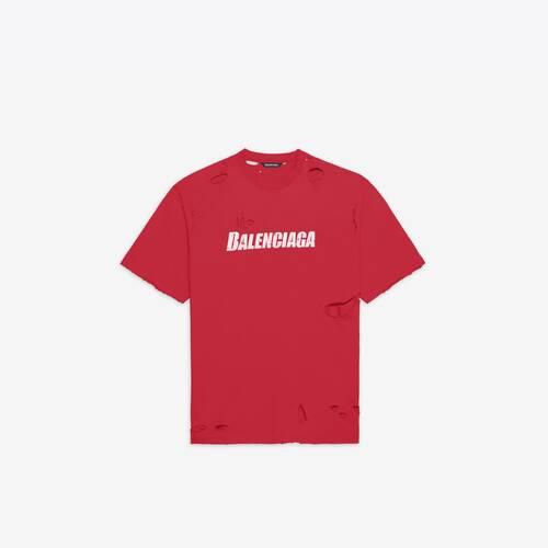 caps destroyed flatground tシャツ