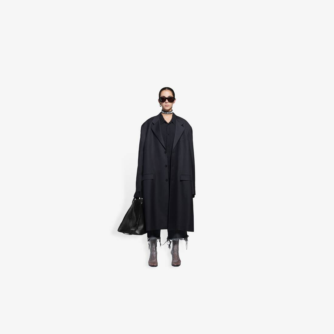 Display zoomed version of hybrid blazer coat 3