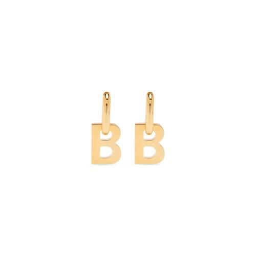 b chain xl earrings