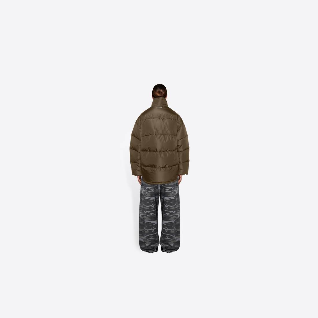 Display zoomed version of cocoon puffer jacket 5