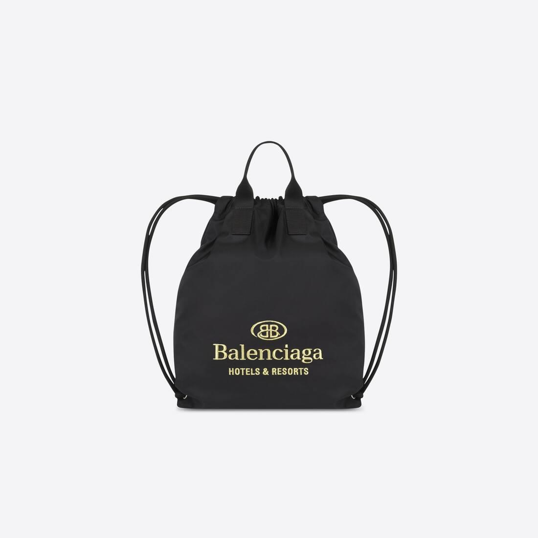 Display zoomed version of hotel drawstring bag 1