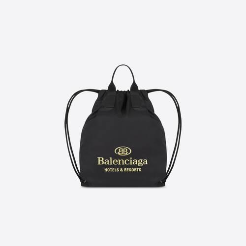 hotel drawstring bag