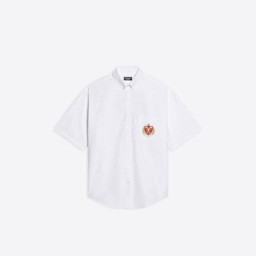 college large fit short sleeve shirt