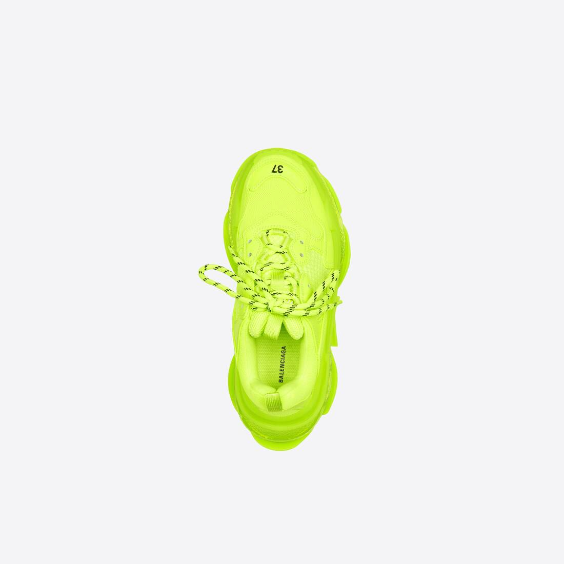 Display zoomed version of triple s clear sole sneaker 5