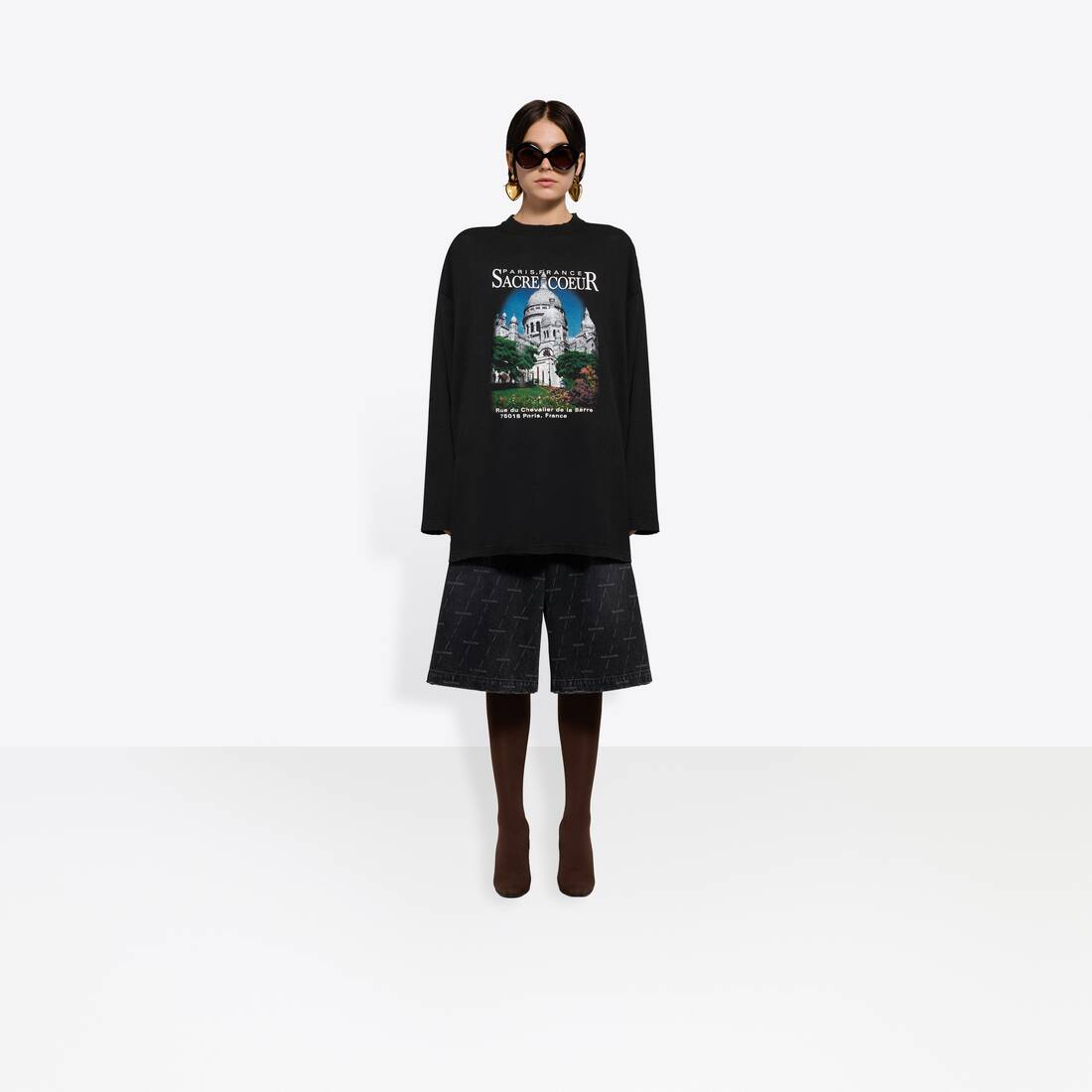 Display zoomed version of sacré cœur xl long sleeves t-shirt 6