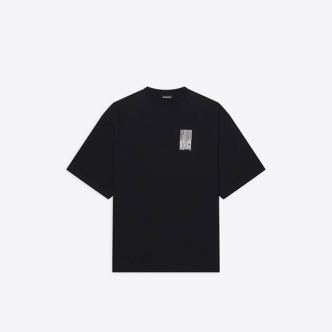 Display zoomed version of barcode wide fit t-shirt  1