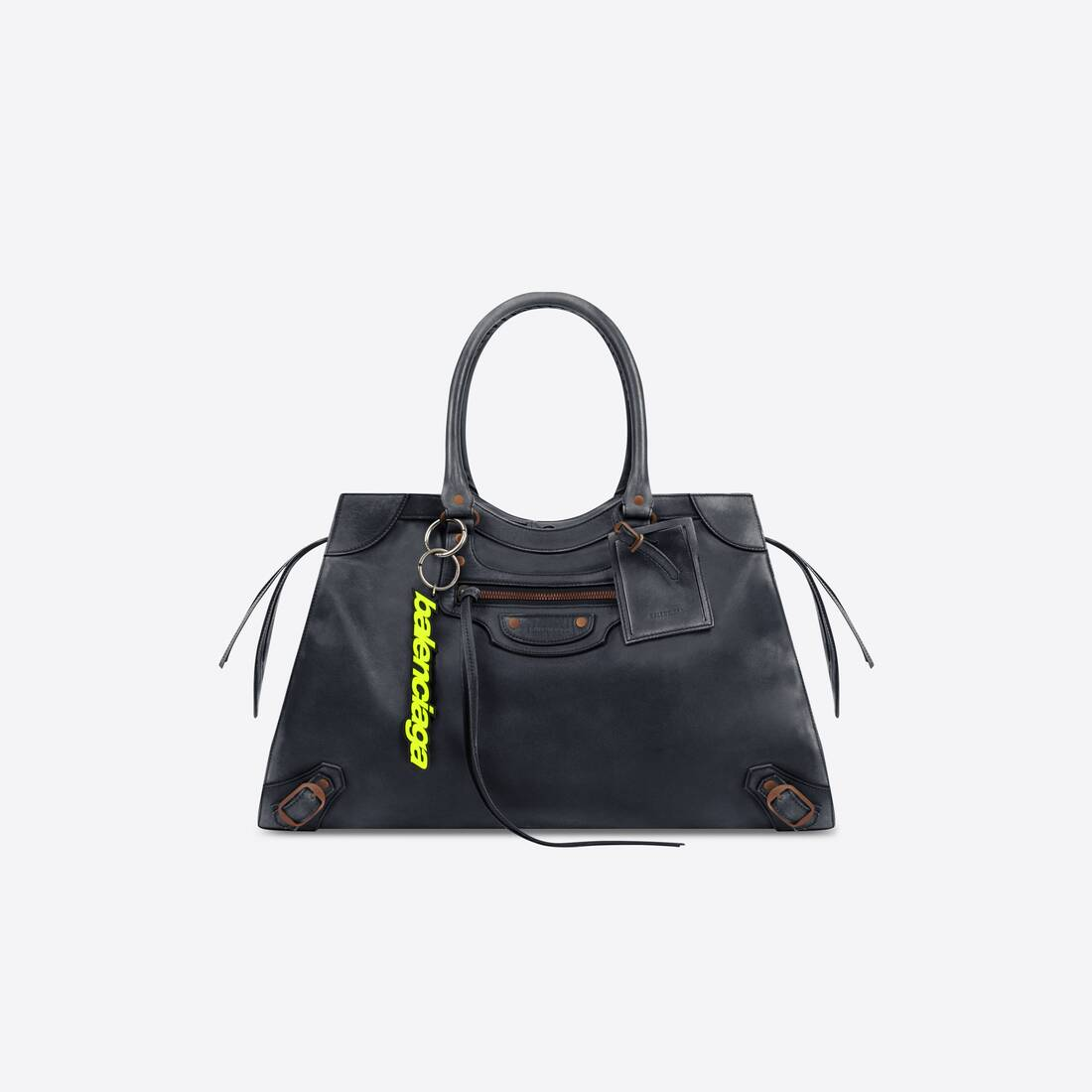 Display zoomed version of neo classic large top handle bag 1