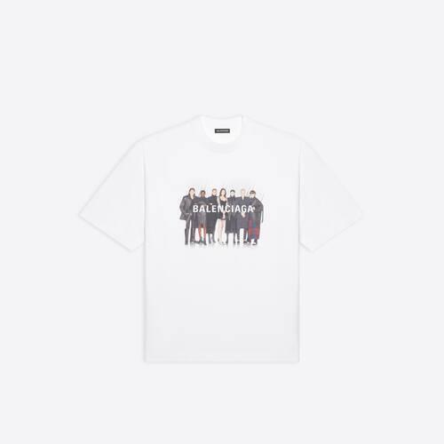 t-shirt fit medium real balenciaga