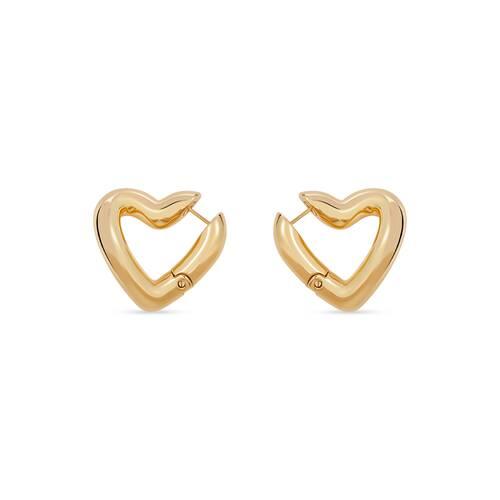 loop heart ピアス