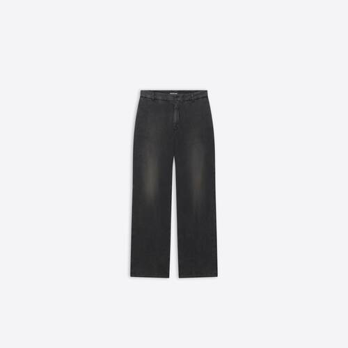 slim worn-out pants
