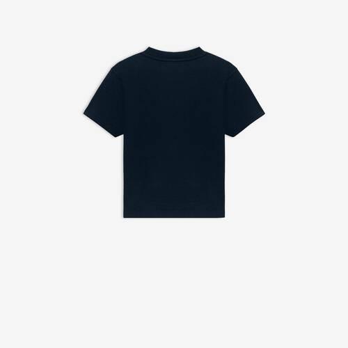 kids - camiseta con logotipo de balenciaga