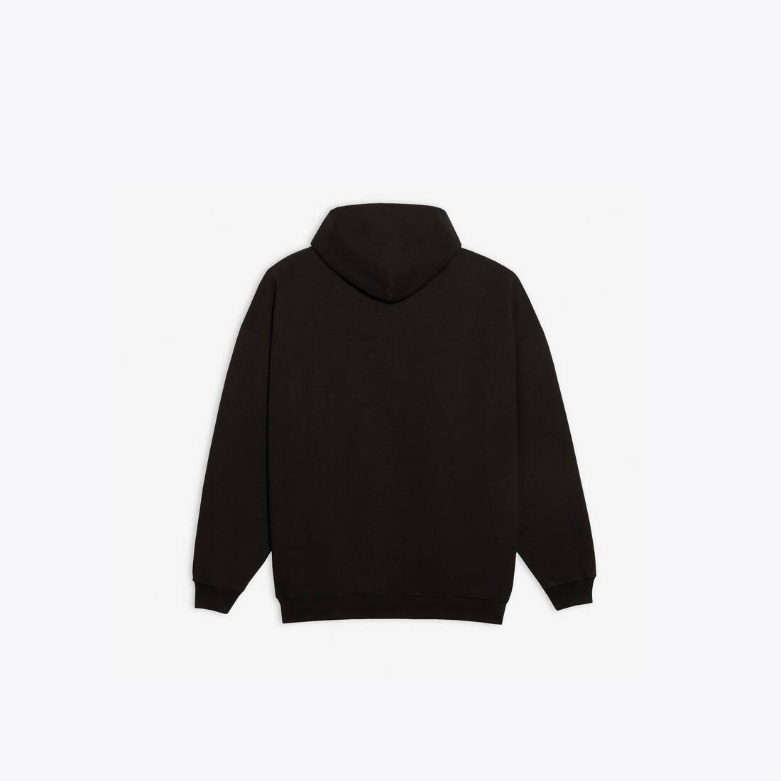 Display zoomed version of real balenciaga large fit hoodie 2