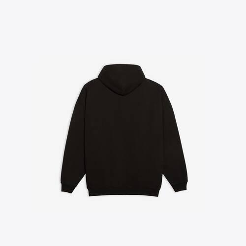 real balenciaga large fit hoodie