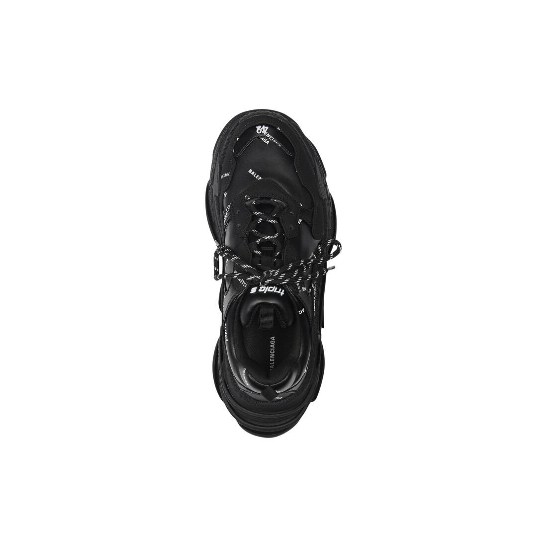 Display zoomed version of triple s sneaker mit allover-logo 5