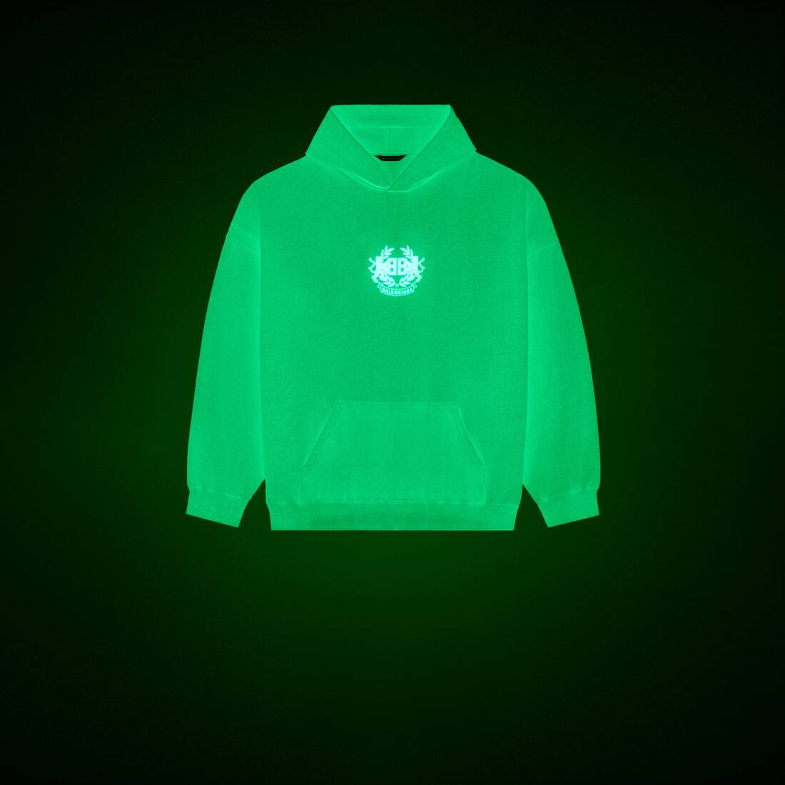Display zoomed version of gitd lion's laurel hoodie 1