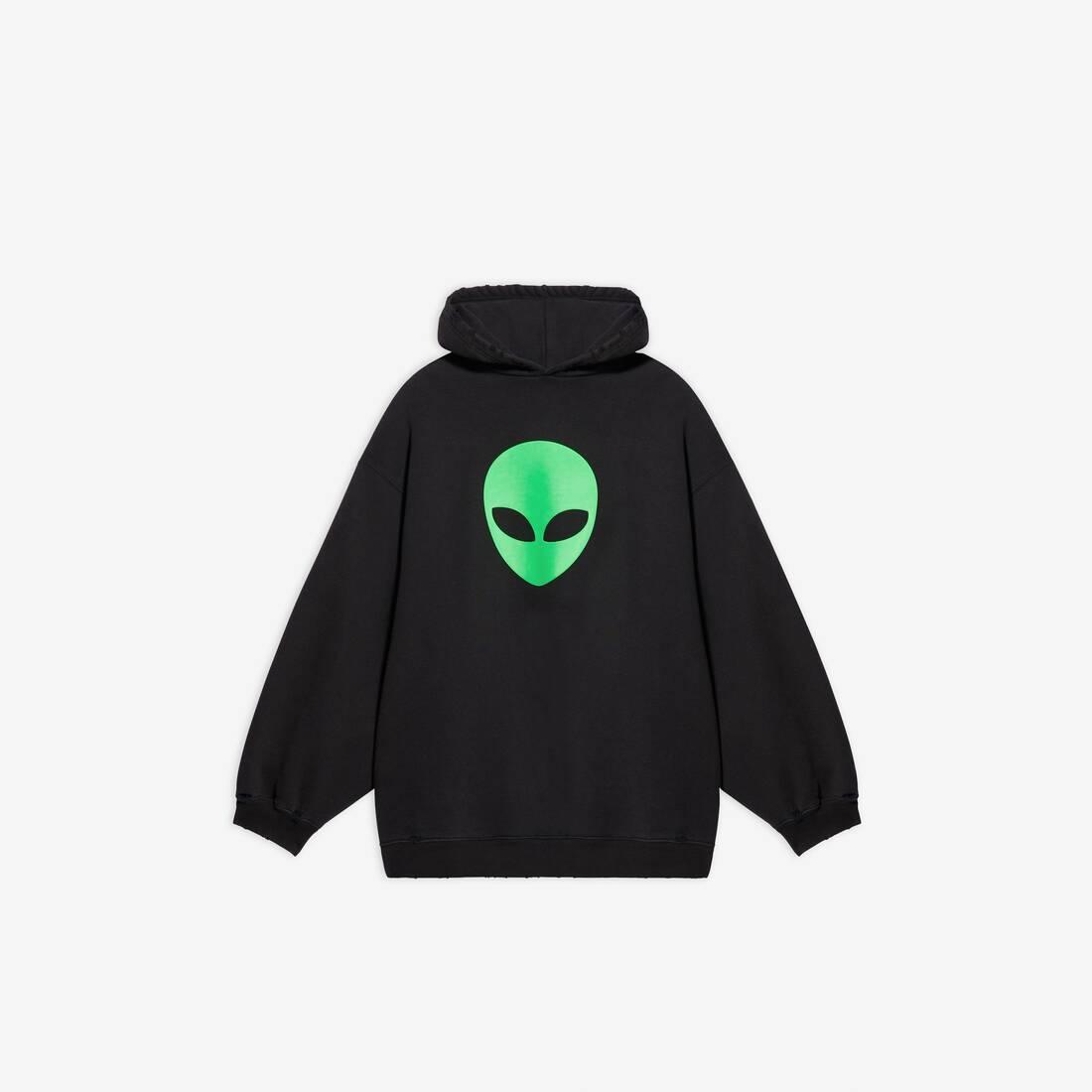 Display zoomed version of alien sport hoodie 1