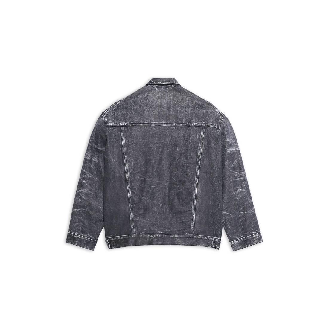 Display zoomed version of trompe-l'œil denim jacket 2