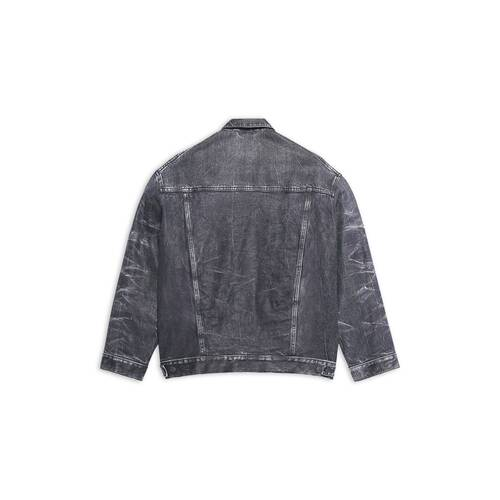 trompe-l'œil denim jacket