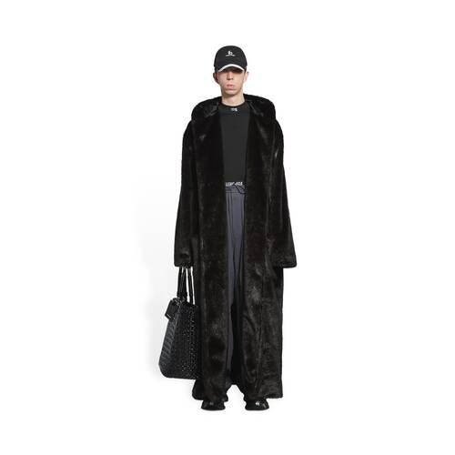manteau peignoir maxi