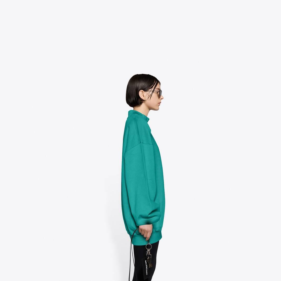 Display zoomed version of real balenciaga 2 crewneck sweater 4